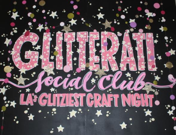 Glitterati Social Club October Miss Kris Maker City LA
